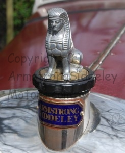 Armstrong Siddeley Sphinx mascot