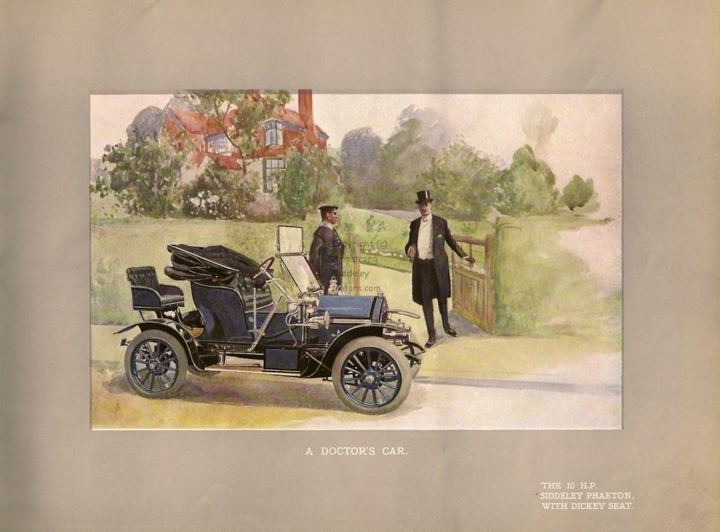 Siddeley Autocar 1908