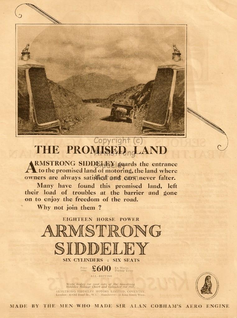 Armstrong Siddeley 1927 Sir Alan Cobham