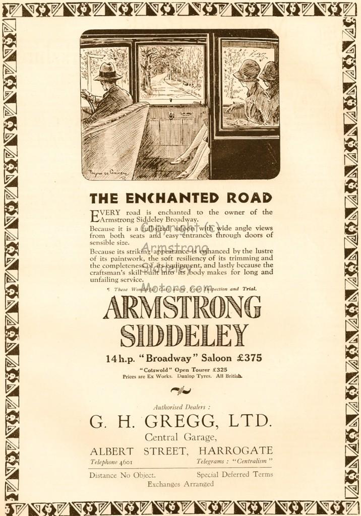 Armstrong Siddeley 1927 Bryan de Grineau