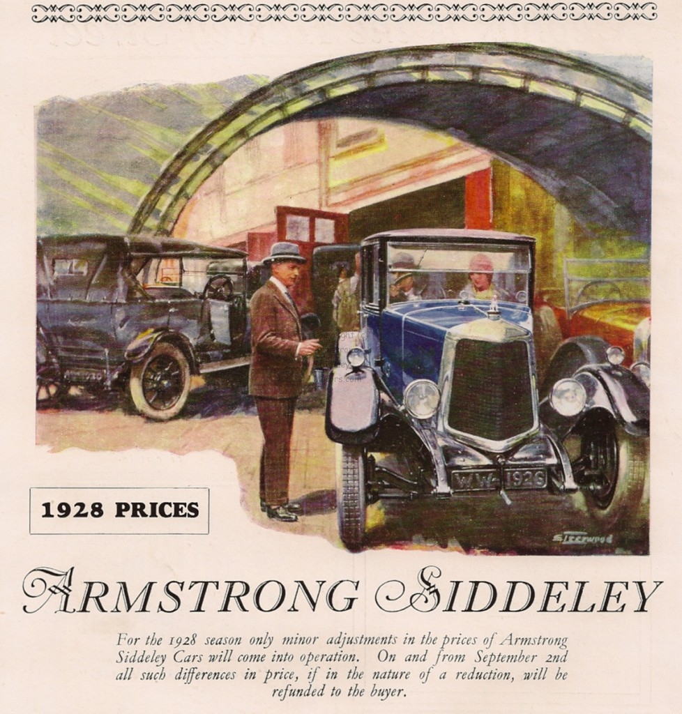 Armstrong Siddeley FT Steerwood advertisement