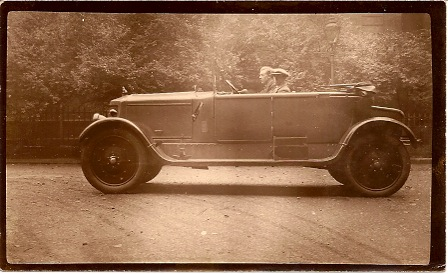 Armstrong Siddeley 30 HP coupe