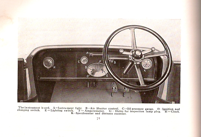 Controls of Armstrong Siddeley 30 HP