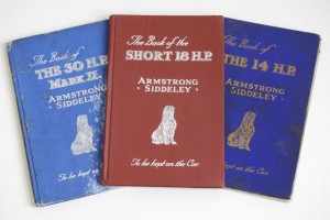 14 HP, 18 HP and 30 HP handbooks 1925-1927