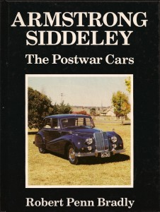 Armstrong Siddeley Post War Cars