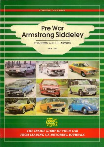 Pre-War Armstrong Siddeley