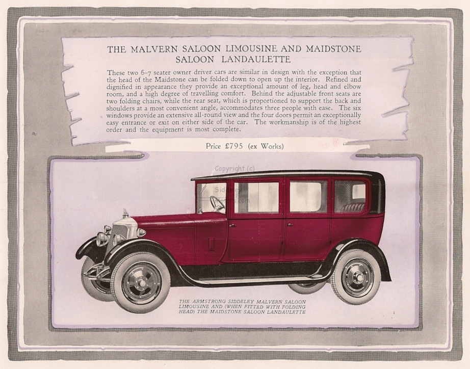 Armstrong Siddeley 18 HP