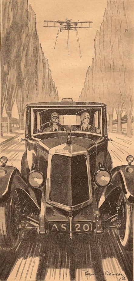 Armstrong Siddeley car Bryan de Grineau 1928