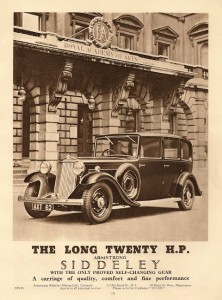 Long 20 HP advertisement 1934