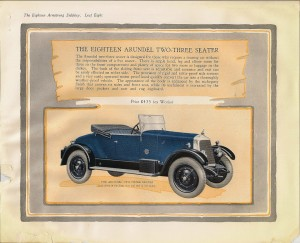 1926 Armstrong Siddeley Coupe 18 HP car