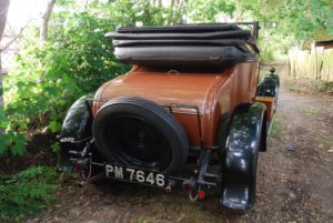 14 HP Armstrong Siddeley Chiltern coupe with dickey seat