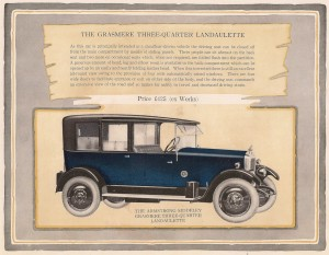Armstrong Siddeley Grassmere saloon 1926