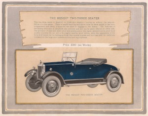 Armstrong Siddeley 14 Mendip coupe 1925