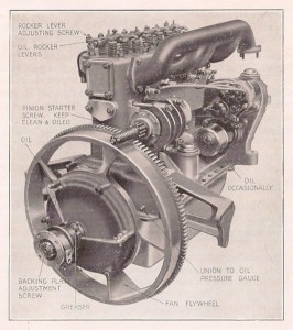 Armstrong Siddeley 14 HP Mark 1 engine