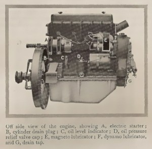 14 horse-power engine 1926-27