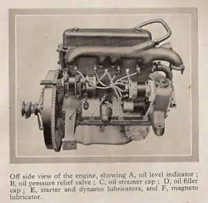 14 HP Mark 2 engine 1925