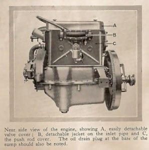 14 horse-power engine 1925