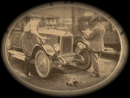 14 HP Armstrong Siddeley tourer car 1926