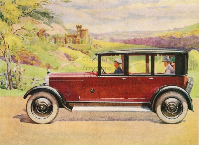 Armstrong Siddeley 14 HP car 1928