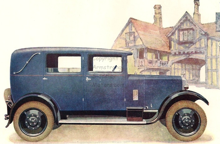 Armstrong Siddeley 15 HP car 1928