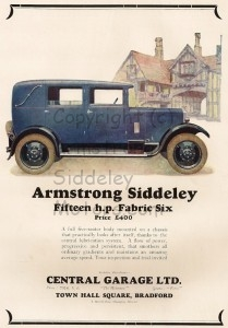 15 HP Armstrong Siddeley 1928