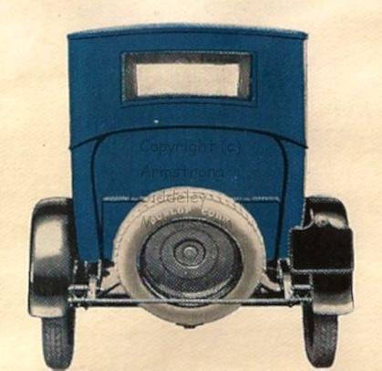 18 HP rear view