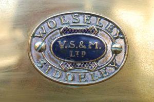 Wolseley Siddeley radiator badge